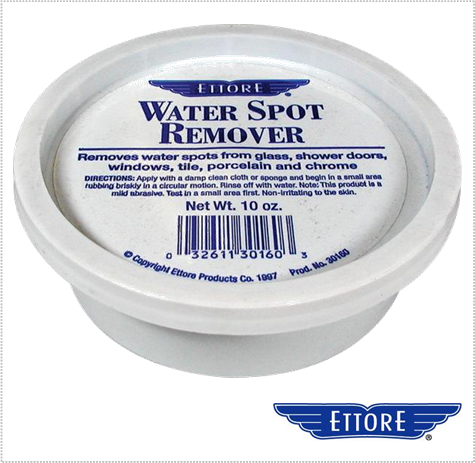 ettore water spot remover paste for removal of hard water spots. Black Bedroom Furniture Sets. Home Design Ideas