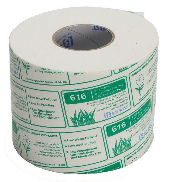 Bay West Eco Soft 616 toilet rolls